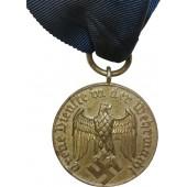 Dienstauszeichnung der Wehrmacht für 4 Dienstjahre. IV Class Long Service Award