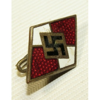 Early HJ badge with marking M 1/ 25 RZM -Rudolf Reiling-Pforzheim. Espenlaub militaria