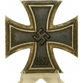 Iron cross 1939 1st class. L/56 marked- Funke & Brünninghaus