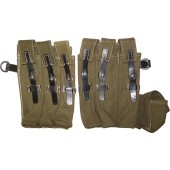Pair of pouches for MP 38 & 40 submachine gun/ Magazintasche MP38 u. 40. Mint.