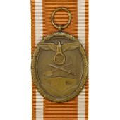 Westwall Medal with ribbon, mint