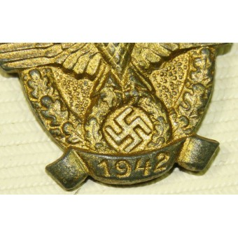 Winterhilfswerk Police day 1942 year zinc badge. Espenlaub militaria