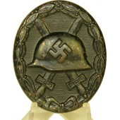 WW2 wound badge in black