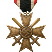"3rd Reich War Merit Cross, 1939 with swords, KVK2, mared ""68"""