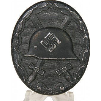 German WW2 wound badge in black, LDO L/56. Espenlaub militaria