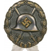 3rd Reich wound badge in black, 1939, 1st type