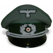Wehrmacht Gebirgsjager visor hat, Mountain troops.