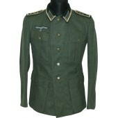 Wehrmacht M 36 infantryman's tunic for Oberfeldwebel of 42nd Infantry Reg.
