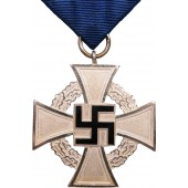 "3rd Reich Cross ""25 Years of Faithful civilian Service"", 2nd class"