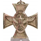 "3rd Reich. Cross ""For 25 years loyal service in the police"" 1st grade"