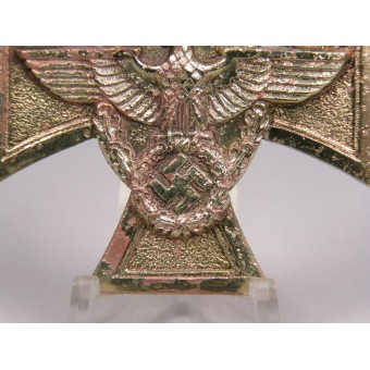 3rd Reich. Cross For 25 years loyal service in the police 1st grade. Espenlaub militaria