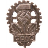 Memberbadge of the imperial union of disabled workers GDAO 17 mm