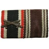 Ribbon bar for the KVK and NSDAP service medal
