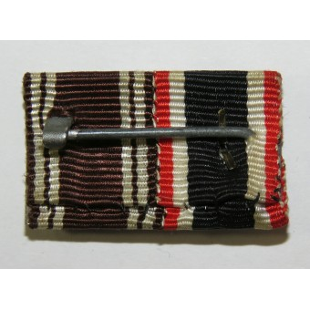 Ribbon bar for the KVK and NSDAP service medal. Espenlaub militaria