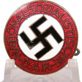 Transitional NSDAP member badge M1 / 78 Paulmann und Crone