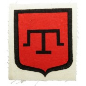 Sleeve insignia for the Crimean Tatars in Wermacht