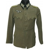 The 67 mountain signals  battalion of the Wehrmacht commanders tunic