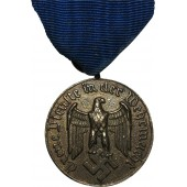 4 years of service in Wehrmacht medal