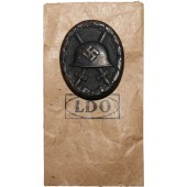 Wound Badge in Black L / 56 with envelope
