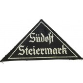 "BDM Dreieck ""Südost Steiermark"" worn and tunic removed"