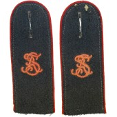 Flak Artillerie Schule sew in shoulder boards
