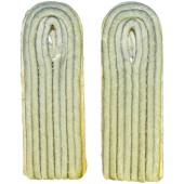 Wehrmacht. Lieutenant's of infantry shoulder boards, slip on- field