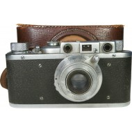 The Soviet camera FED 1 B, with serial #31161, 1936 year.