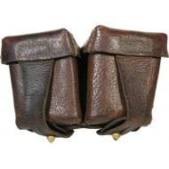 Leather pouch for Mosin rifle.
