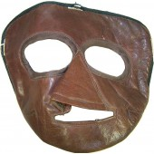 Pre war Soviet flyers leather face mask marked 194?