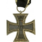 Imperial 1914 German Iron cross second class S marked