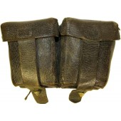 M 38 Mosin rifle leather ammo pouch