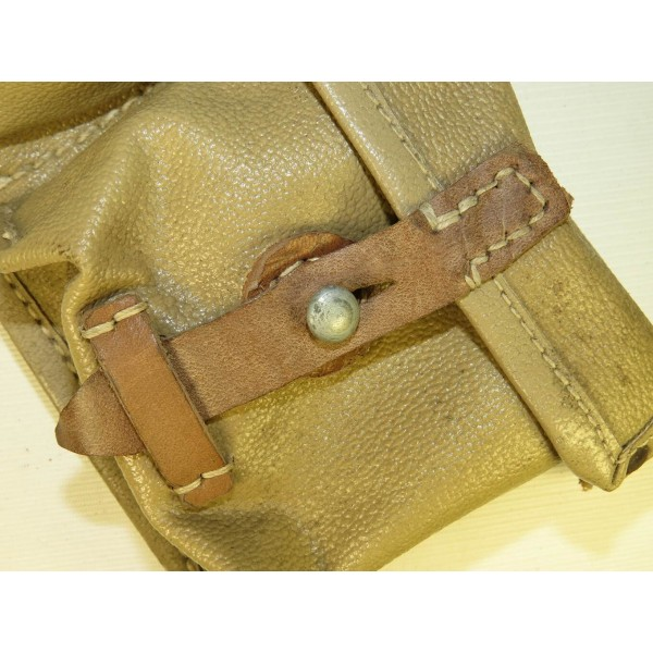 Artificial leather/ oilcloth ros 1944 dated, minty mag pouch for G43/K43  (Karabiner 43)- Pouches & Holsters