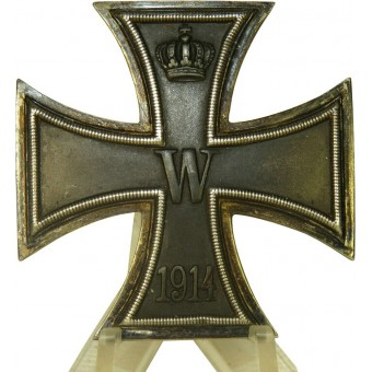 Eisernes Kreuz 1 Klasse 1914. Iron cross first class, 800 marked. Espenlaub militaria