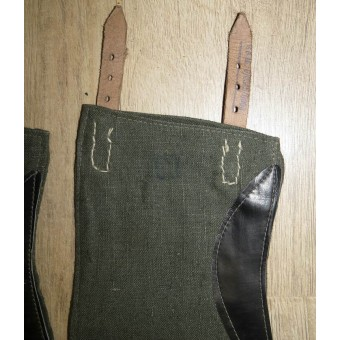 German M 43 soldiers gaiters. Mint. Espenlaub militaria