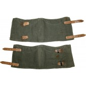 German M 43 soldier's gaiters. Mint