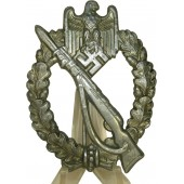 Infanteriesturmabzeichen ( ISA), Infantry assault badge, silver class. Die struck rifle