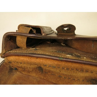 Korovin or Prilutzky 7,65 mm leather holster. Pre war issue. Espenlaub militaria