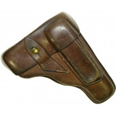 Korovin or Prilutzky 7,65 mm leather holster. Pre war issue