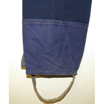 M 35 Soviet NCOs or militia blue trousers without piping for  peace time.. Espenlaub militaria