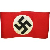 NSDAP wool armband with swastika