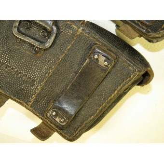 RB NR 0/0552/0024 marked K 98 ammo pouches - pair.. Espenlaub militaria