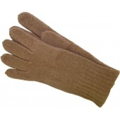 Red army wool gloves