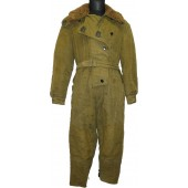 Soviet M 42 simplified coverall for armored crew and flying personnel