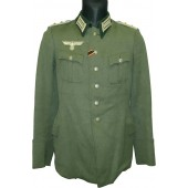 Wehrmacht Heer Feldbluse Tunic for Hauptmann of transport troops