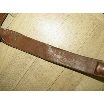 Y-Riemen/ Y-Strap for Wehrmacht Heer or Waffen SS RB NR marked. Espenlaub militaria