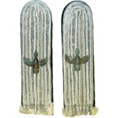 Kriegsmarine coastal artillery shoulder boards, sew in type
