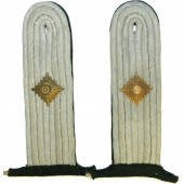 Kriegsmarine coastal service shoulder boards for summer tunic