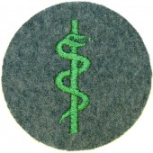 3rd Reich State Protection Police Medical trade arm patch.