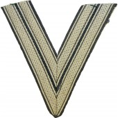WW2 Luftwaffe arm rank patch for Obergefreiter.