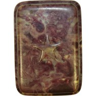 Soap celluloid box with star on the lid, RKKA.